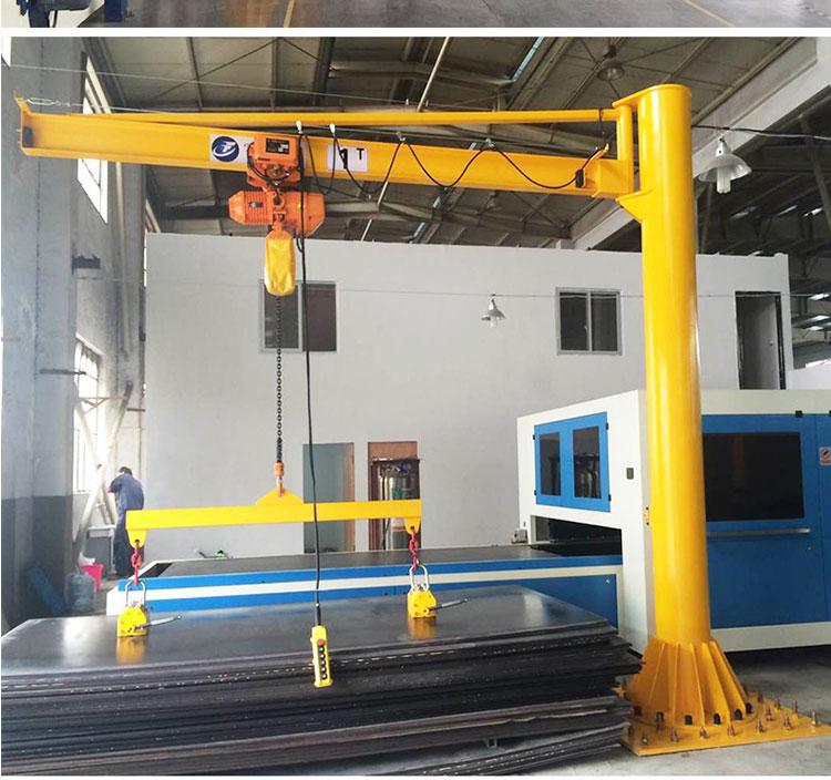 Personnalisé Avoir Surcharge Protection 360 Angle de Rotation 0.5t colonne grue à flèche