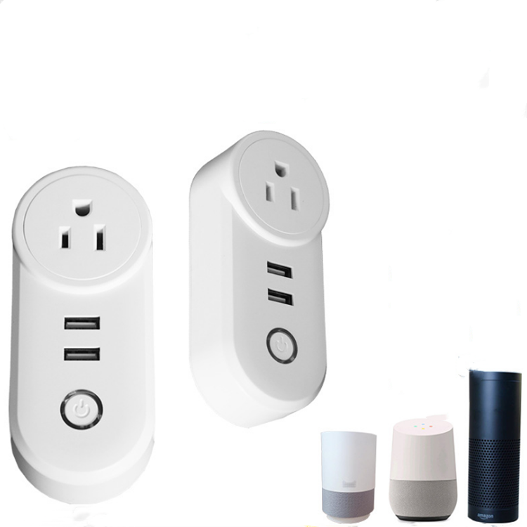 SFT US Wifi Smart plug Switch Power Plug <strong>Socket</strong> Wireless Light Outlet Timer Remote Control Support Alexa Google Home