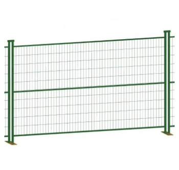 2.1 x 2.4m canada galvanized temporary fence construction