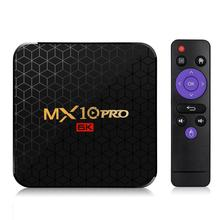 Mx10 PRO H6 set-top Box 4G + 64GB Android 9.0 Smart Netzwerk Player TV box set-top- box