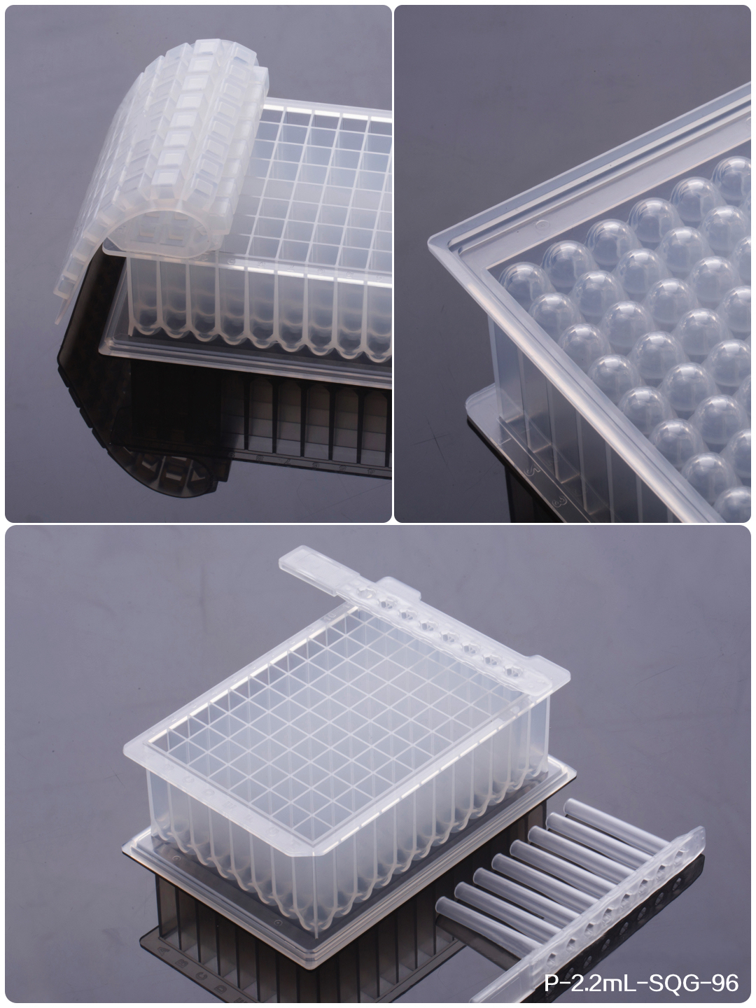 Lab Supplies Consumables 96 Deep Well Plates - 2.2ml DW Plate-22U