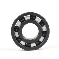 6800 high temperature black full ceramic Si3N4 ball bearing