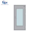 Lowes price decorative front french door steel or stainless steel frame insulated Fire Rated Glass inserts Door