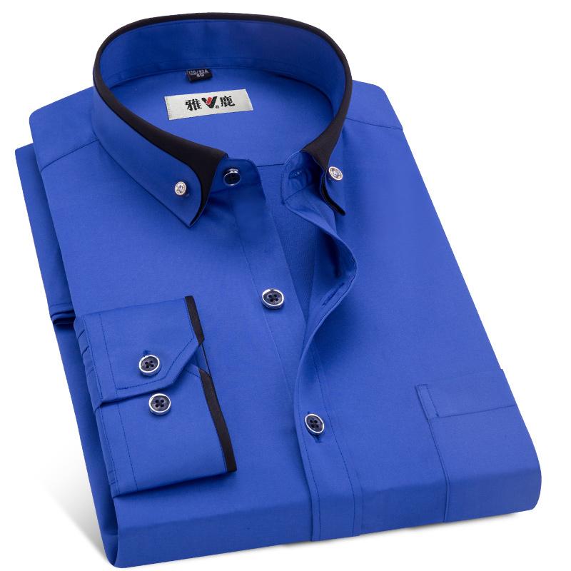 무료 배송 Hotsale 긴 소매 비즈니스 캐주얼 정장 드레스 셔츠 맞춤