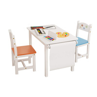 Cheap Small Personalized Wooden Furniture Set Wood Nature Toddler Boy Children Kids Study Play Tables And Chairs