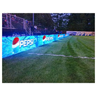 Perimeter led display p10 with aluminum cabinet football stadium led screen outdoor for advertising