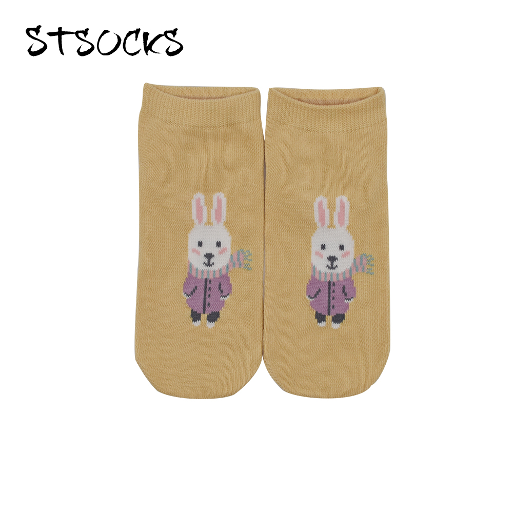 Wholesale Newly Design High Quality Custom Kids Cotton Fancy Cute Rabbit Socks For Young Girls