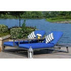 New Product All Weather Discount Outdoor sofa Sun Lounger Garden Furniture