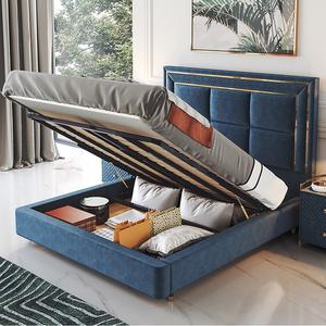 Bed room set modern furniture king size bed luxury