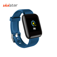 NEW 116plus Fitness Watch with Heart Rate Monitor Blood Pressure Smart Bracelet Wristband