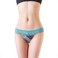 Women Tong Underwear Panties Sexy Transparent Ladies Underwear G String Panties