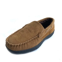 2019 Factory High Quality Driving Cow Suede Leather Loafers Men's Casual Moccasins