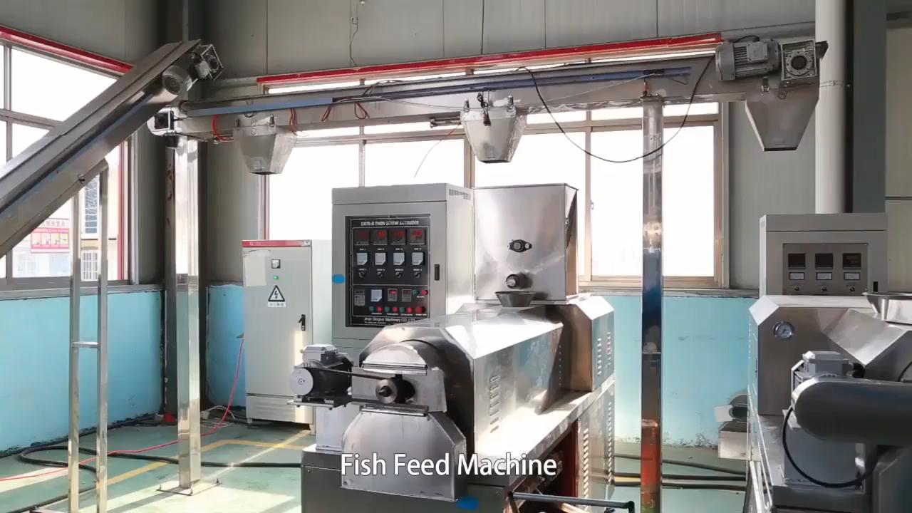 Автоматическая промышленная плавающая машина для обработки корма птицы рыбы собаки кошки производственная линия