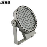 Modern waterproof white red green amber IP65 100W - 120W Outdoor lamp landscape spotlight lamp led rgb dmx 512 garden Spot Light