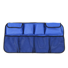 Автомобильный органайзер для хранения спинки сиденья эластичный сетчатый мешок для автомобиля между сумкой держатель для багажа карман дл...(Китай)