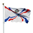 Products New Products Vivid Color Polyester National Assyrian Flag Banners