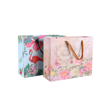 Luxury recycled custom printing logo pack gift paper bags