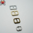 Manufacturers Customized Rectangle Roller Pin Buckle Metal Adjustable Pin Buckles for Belt