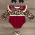 Organic Baby Romper Girls Summer leopard Print Sleeves Rompers Toddler Boutique Casual Bodysuits  OEM Baby Clothes