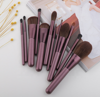 2020 Best Selling Makeup Brushes Portable Makeup Brush Holder Set