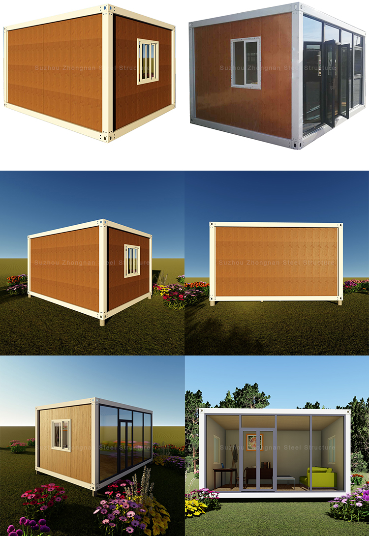 New design luxury 3 bedroom prefab modular shipping container house home