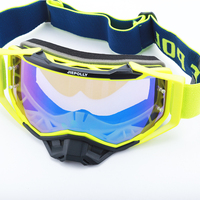 OEM adult sports riding goggles motorcycle motocross glasses custom colors roll off motocross goggles made in china wholesale