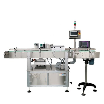 SKILT Factory Automatic Round Bottle Automatic Labeling Machine With Date Print Device