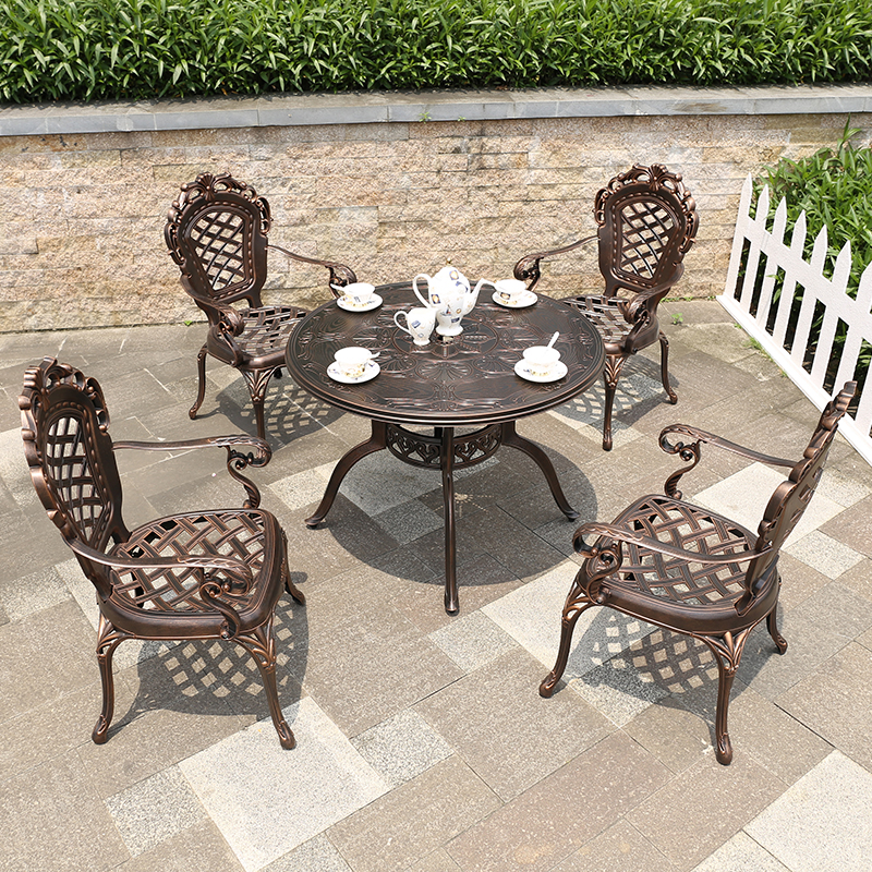 Admirable New Furniture Used Cast Aluminum Patio Furniture Cast Aluminum Outdoor Furniture Garden Set View Cast Aluminum Outdoor Furniture Yange Product Home Interior And Landscaping Eliaenasavecom