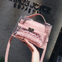 Woman 2019 New Fashion Jelly Small Tote Messenger Bags Female Crossbody Shoulder clutch Bags