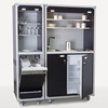 Customized Flight Road Case for Refrigerator Dishwasher Coffee Machine Water Dispenser