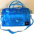 high quality new design pvc duffle bag large pink duffle bag with Acrylic Chain