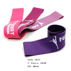5 levels latex yoga stretch hip booty workout mini loop resistance bands