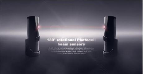 Capteur de faisceau de cellule photoélectrique laser infrarouge sans fil IS-30R
