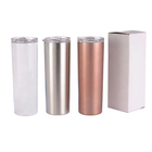 Stainless Vacuum Vacuum Stainless Vacuum Wholesale 20oz Blank Skinny Tumblers Double Wall Stainless Steel Vacuum Insulated