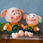 Manufactory Customized Plush Piggy Toys Valentines Gift Animal Pig Soft Toys for Girls and Kids Wedding Party Decoration