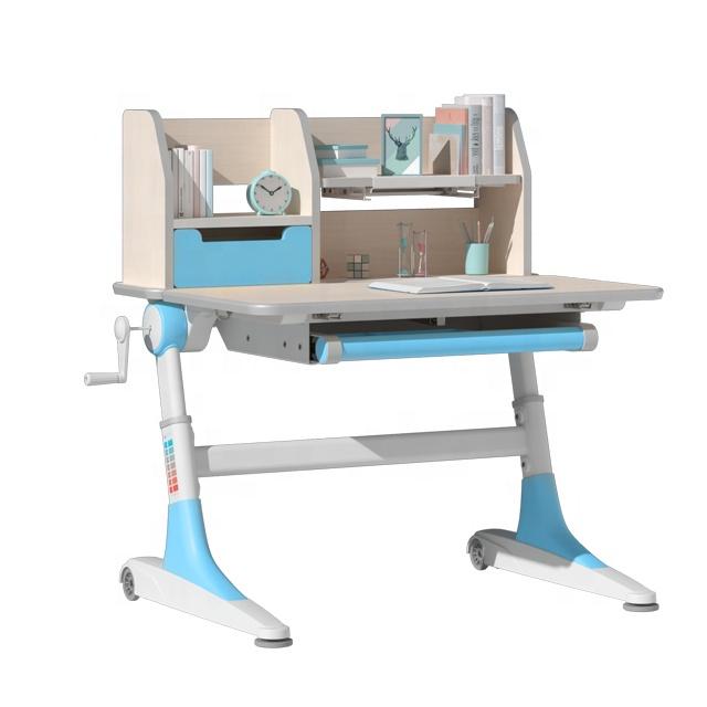 IGROW ergonomic children study desk and chair kids desk children study table chair set