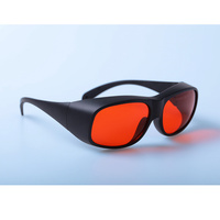 Green Laser Safety Glasses, Blue Laser Protection Goggles Glasses Available:266nm, 355nm, 515nm, 532nm 200 - 540nm OD 7+