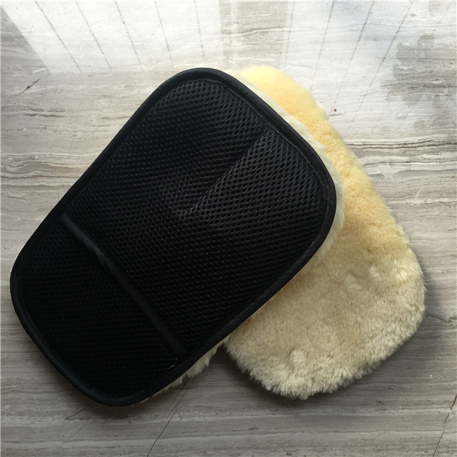 2017 New Sheepskin Wool Car Wash Mitt for sale
