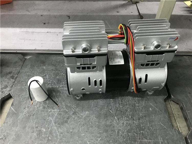 Best price 220v mini portable compressor manufacturer 1hp medical dental silent air compressor with price