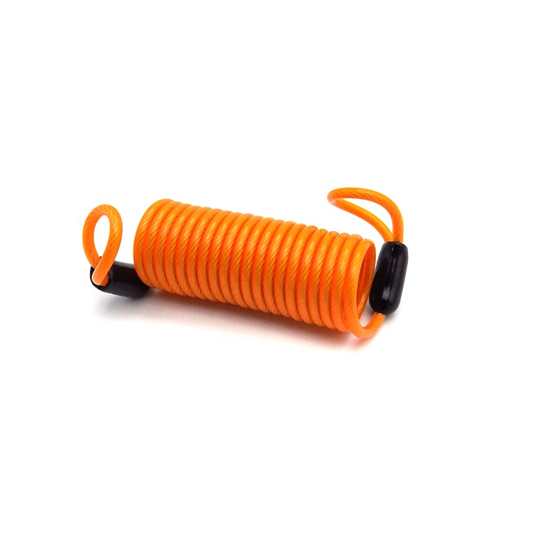 China Plastic Coated Safety Durable Coil Tool Hanging Rope