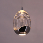 Lights Pendant Light Residential Modern Style 5 Lights Bubble Glass LED Pendant Lamp