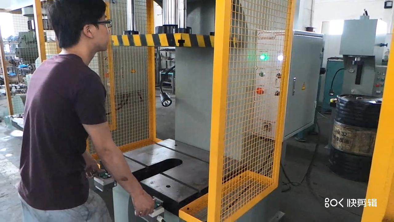 10 ton piccolo manuale profondo disegno di stampa in acciaio inox idraulico premendo macchina