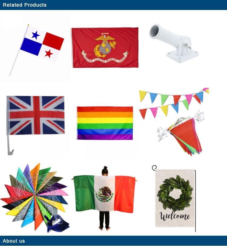 مصنع مخصص الطباعة الصغيرة 14*21 الجدول أعلام جميع البلاد علم صغير مكتب صغير العلم الوطني مع موقف