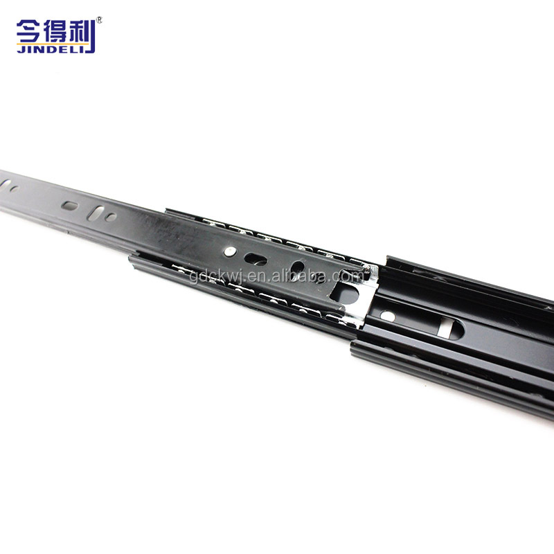 Furniture Hardware Ball Bearing Roller Drawer Slide Rail Drawer Slide Roller And Wheel