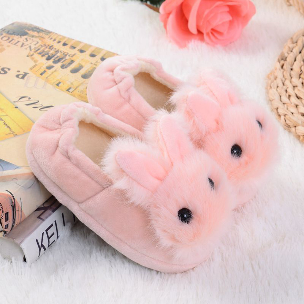 Toddler Baby Girl Kids Winter Slippers