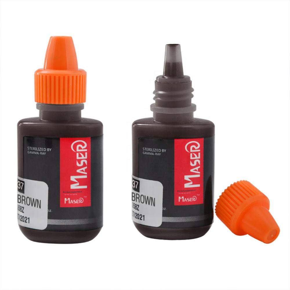 Новейшая модель; Maser микропигментации брови чернил для татуажа, Органический крем для губ пигмент для мануального татуажа, набор для ручного использования