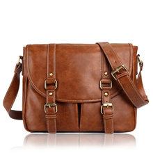 Мужская сумка из искусственной кожи, повседневный рюкзак для ноутбука, Повседневная сумка через плечо, туристические сумки через плечо для ...(Китай)
