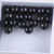 13mm Large Size Dyed  Dark Black Color Big Edison Loose Pearls