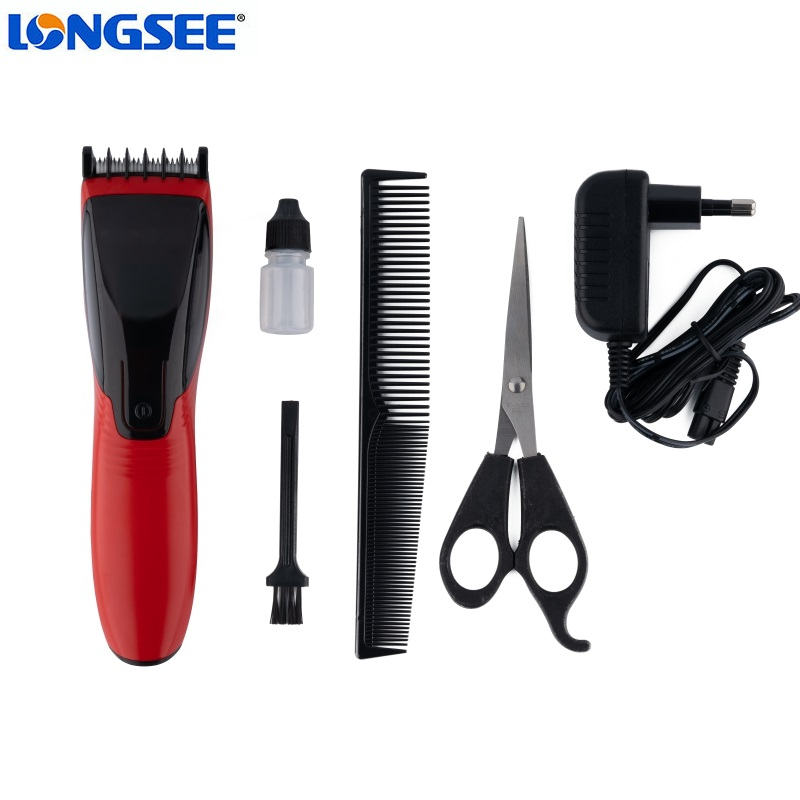 Unique Design safe hair trimmer Stainless steel blades Cordless Home use hair clipper