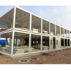 prefab ready made home house with steel structure sandwich panel